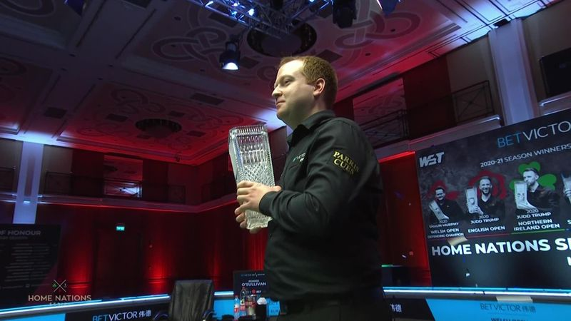 'I have had some dark days' - Brown on his journey to Welsh Open title