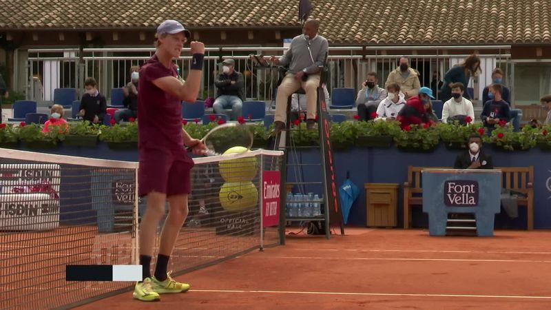 ATP Barcelona: Rezumatul meciului Sinner - Bautista-Agut. Italianul victorie mare în fața ibericului