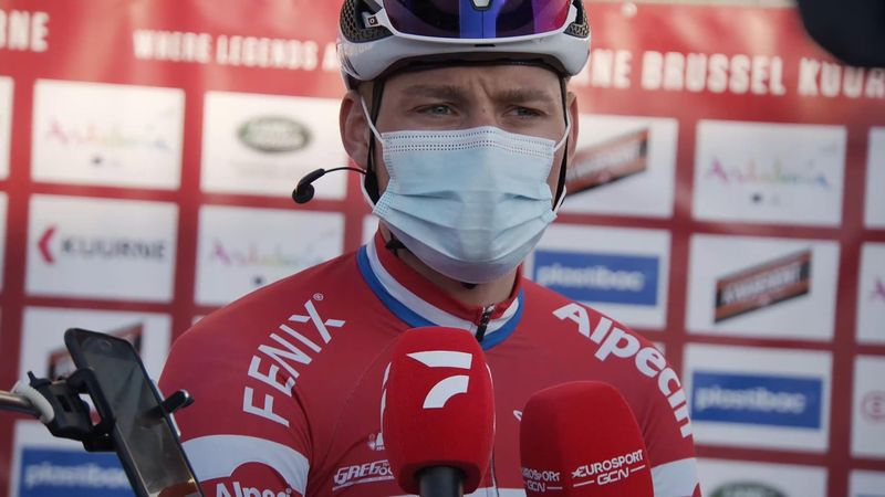 'We almost managed it' – Van der Poel on breakaway near-miss at Kuurne-Brussels-Kuurne