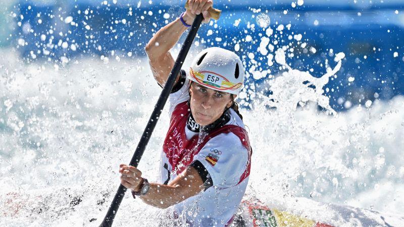 Eslalon | Núria Vilarrubla se queda fuera de la lucha por las medallas