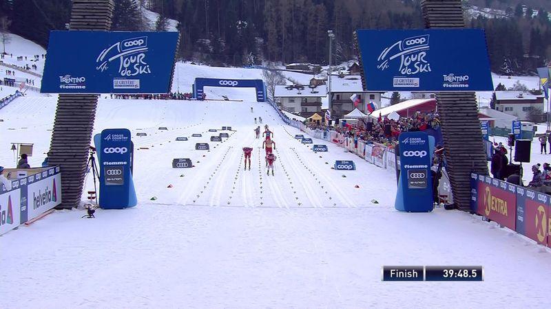 Tour de Ski | Sprintzege naar Lampic