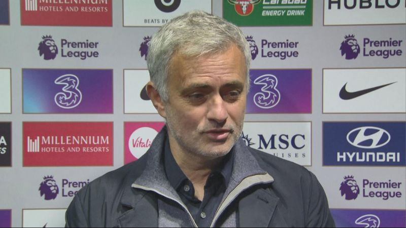 'We are not in the title race, we are a small pony' - Mourinho