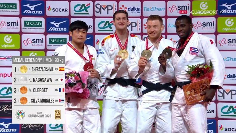 Judo, Grand Slam de París: La emocionante entrega del oro a Sherazadishvili