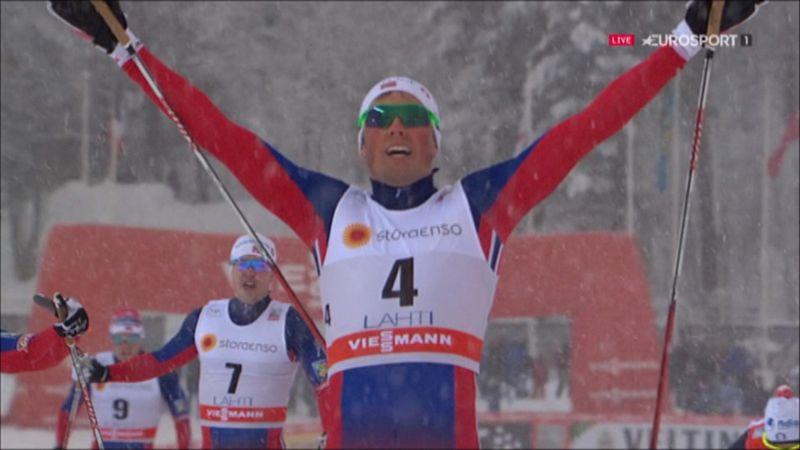 Iversen wins cross-country sprint in Lahti