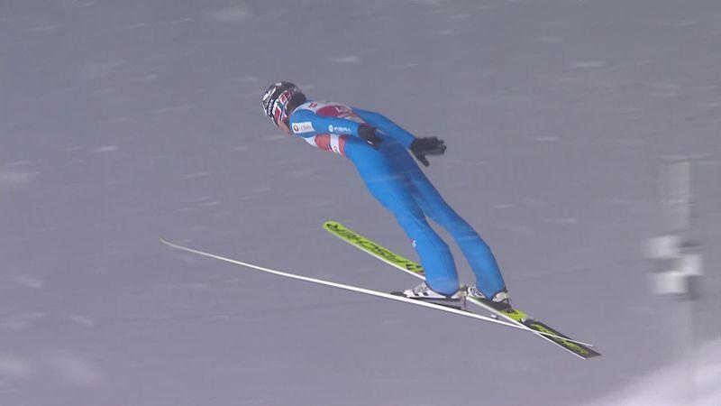 Robert Johansson, super salto e secondo posto