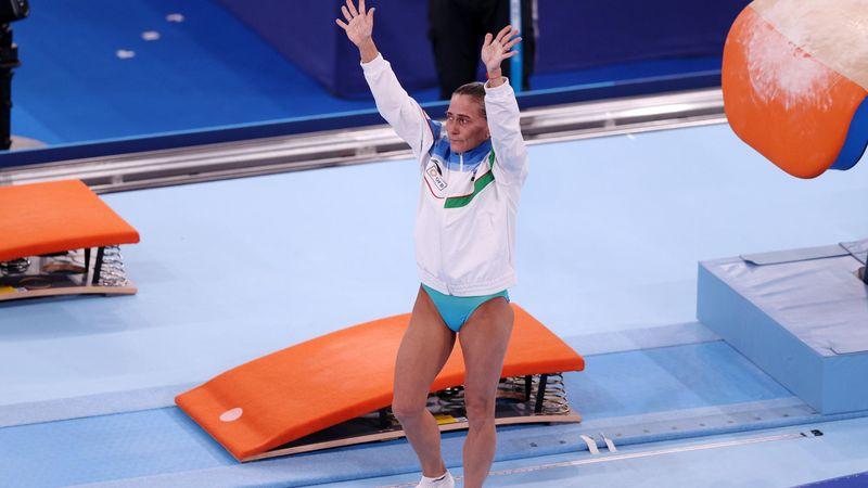 Emotionaler Abschied: Turn-Legende Chusovitina (46) verpasst Finale