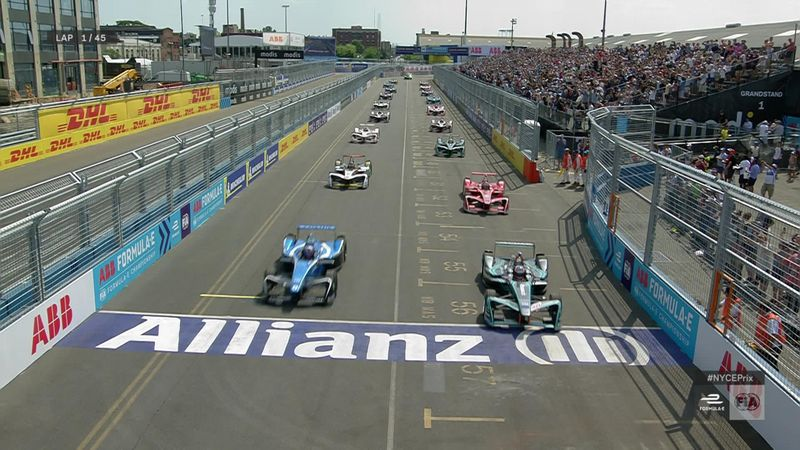 Highlights: Di Grassi claims Race 1