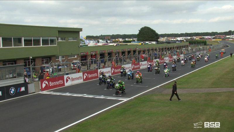 Highlights: British Supersport sprint race from Snetterton