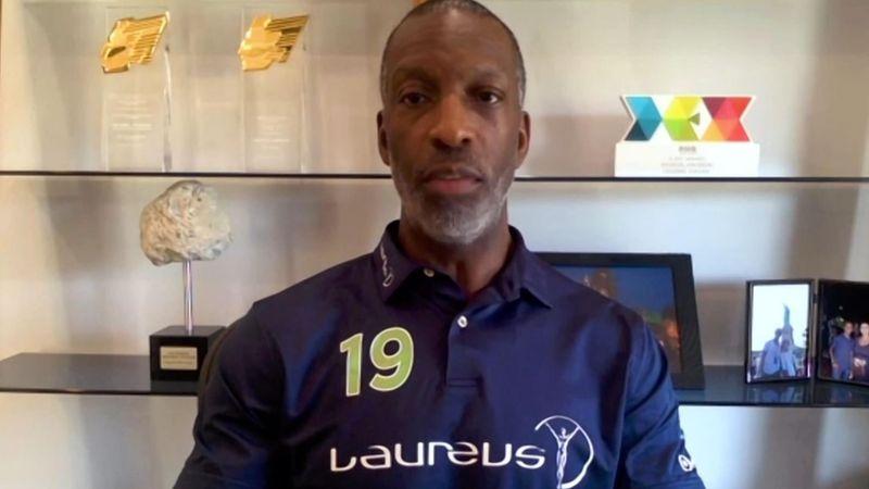 'Sport has an incredible power' - Michael Johnson on BLM