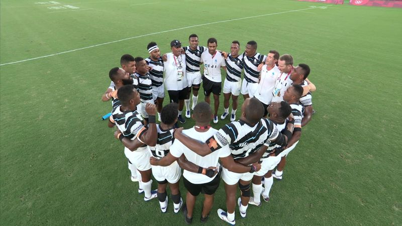 Tokyo 2020 - Fiji vs. New-Zealand - 7er-Rugby – Olympia Highlights