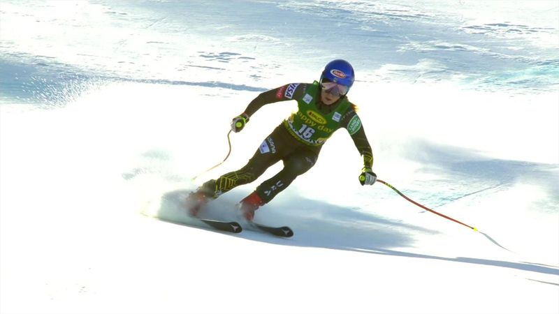 Watch: Shiffrin's victorious Downhill run
