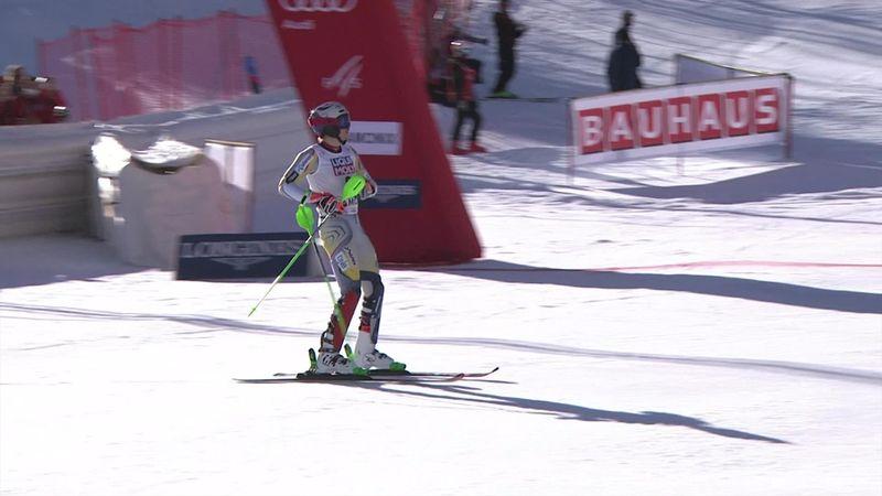 Malgré la piste, malgré une saison difficile, Kristoffersen a tenu bon : son succès en vidéo