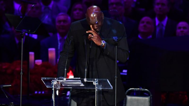 Quando MJ ricordava le chiamate notturne di Kobe