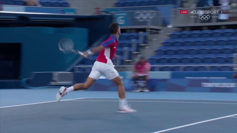 'He's got to be careful!' - Djokovic hurls racket into stands in fury