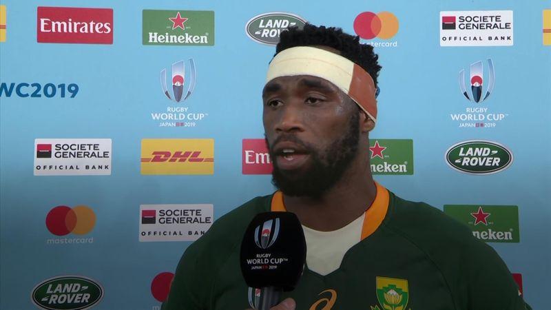 """Siya Kolisi: """"Più forti delle difficoltà. Abbiamo dimostrato al mondo di cosa è capace il Sudafrica"""""""