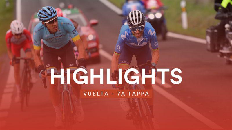 Valverde fuggitivo, Carapaz tranquillo, vince Woods: gli highlights