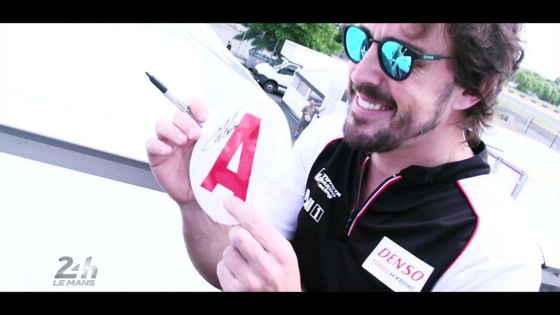 Le Mans-debut til verdensstjerne: Tæt på Fernando Alonso
