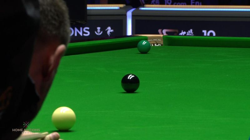 English Open : What a shot from Shelby to win the 10th frame against Allen