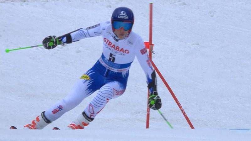 Vlhova pips Rebensburg to victory in Giant Slalom