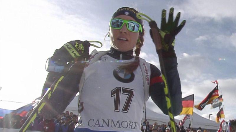 Wierer da record: settimo podio stagionale a Canmore