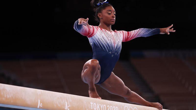 Tokyo 2020 | Bekijk de bronzen oefening van Simone Biles in zijn geheel terug