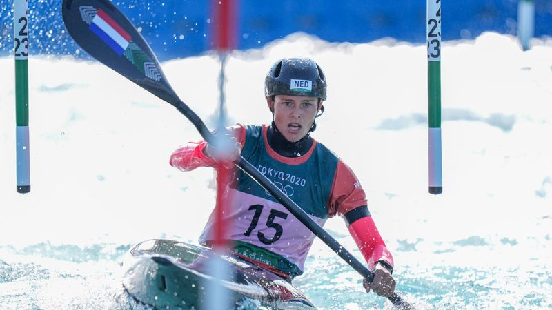 Check hier de run van kanovaarster Martin Wegman in de olympische finale