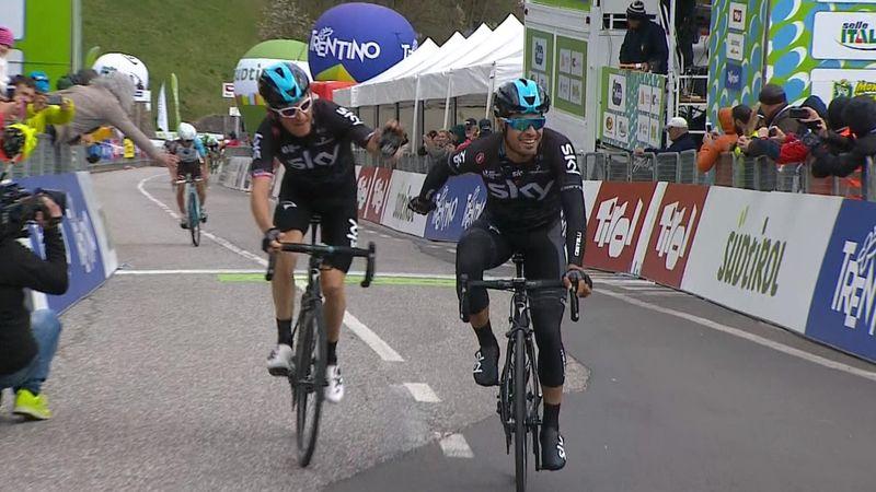 Målgang Tour of Alps, etappe 3
