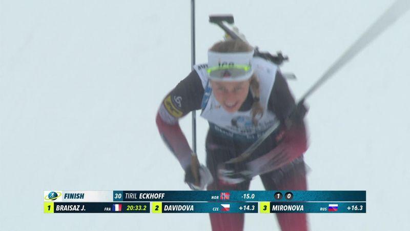 Superrask Eckhoff vant sprinten