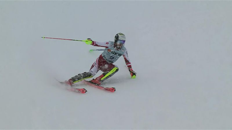 WATCH - The run that secured Manuel Feller's first World Cup victory