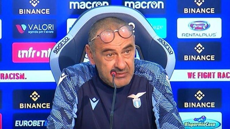 """Sarri: """"Con l'Inter mi aspetto una reazione da uomini"""""""