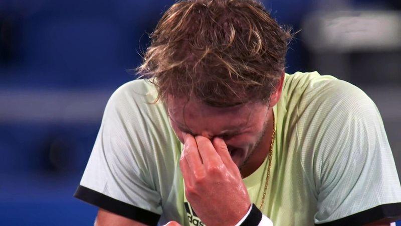 Der Matchball zur sicheren Medaille: Zverev ringt Djokovic nieder
