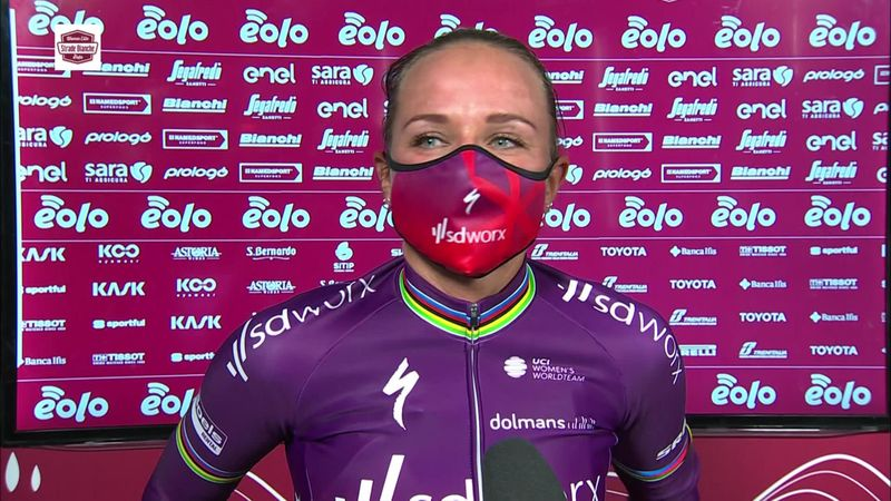 'It wasn't the plan for me to win' - Van den Broek-Blaak on Strade Bianche Donne win