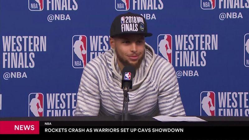 """Stephen Curry tras el pase a la final de la NBA """"Hemos funcionado como un reloj"""""""