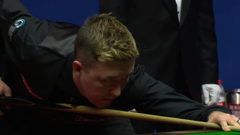 Snooker-vb: Wilson százasa a 5. frame-ben