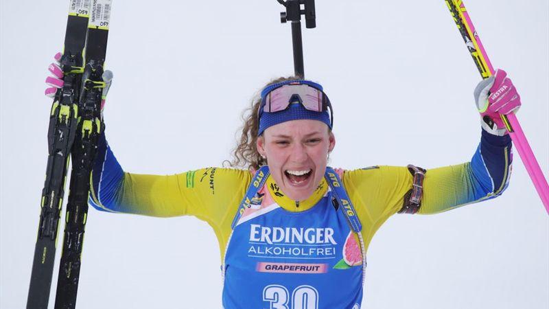 WK Östersund | Oeberg wint 15km individueel