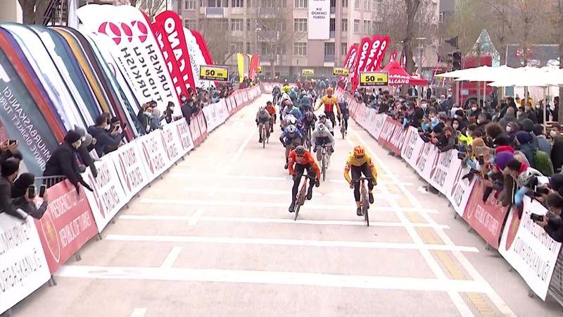 Se høydepunkter fra andre etappe av Tour of Turkey