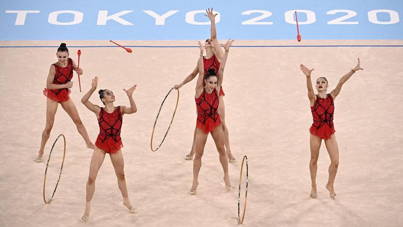 Gimnasia rítmica | Bulgaria enamora y se adjudica el oro del concurso completo