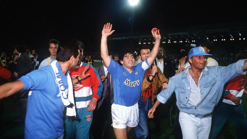 Maradonas bewegte Karriere als Spieler: Gott sei mit uns