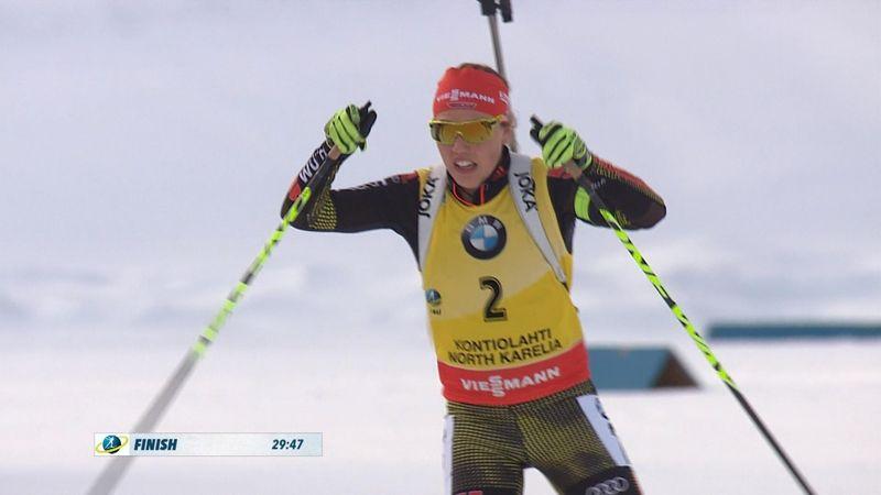 Biathlon HLTS : Pursuit Women