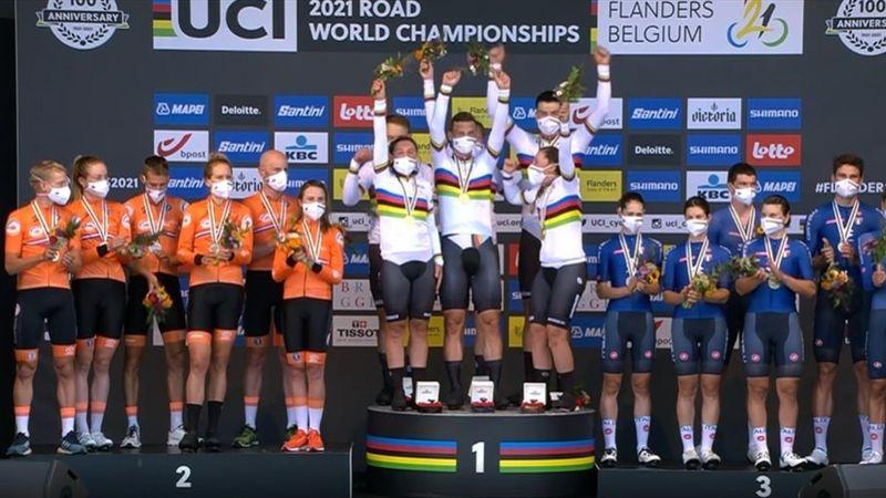 Gold für Deutschland: Hier bekommen Martin und Co. ihre Medaillen