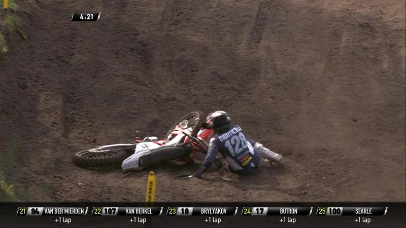 'Woah, big crash!' – Monticelli escapes unscathed