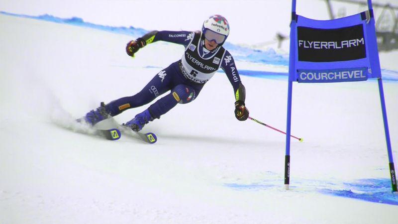 Alpineskiën | Bassino met minimaal verschil sneller dan Brignone