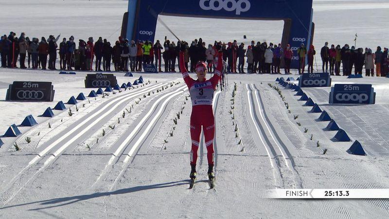 Yulia Stupak vince la mass start, Weng e Andersson a podio
