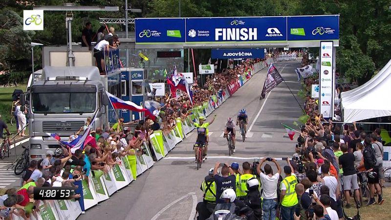 Tour de Eslovenia (4ª etapa): Visconti se lleva la etapa y Ulissi se acerca a la victoria final