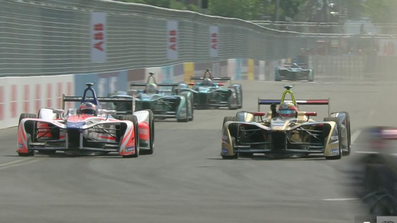 Vergne angry at Rosenqvist after overtake