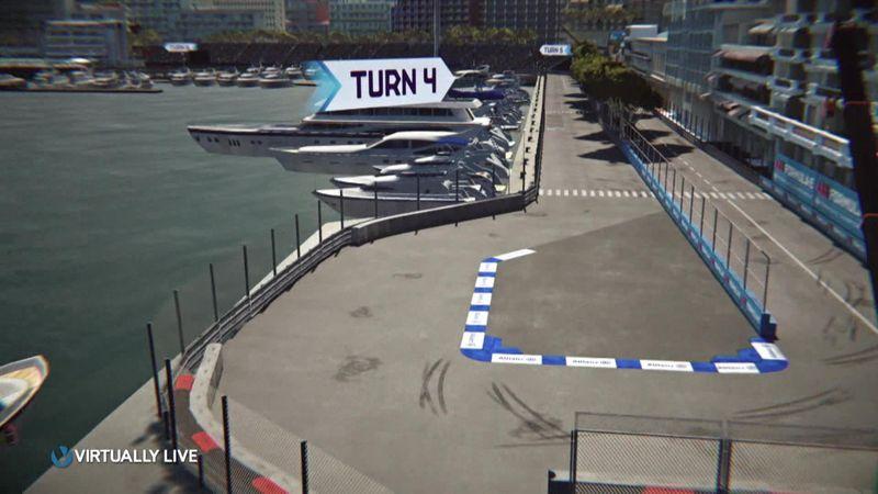 Découvrez le circuit de l'ePrix de Monaco