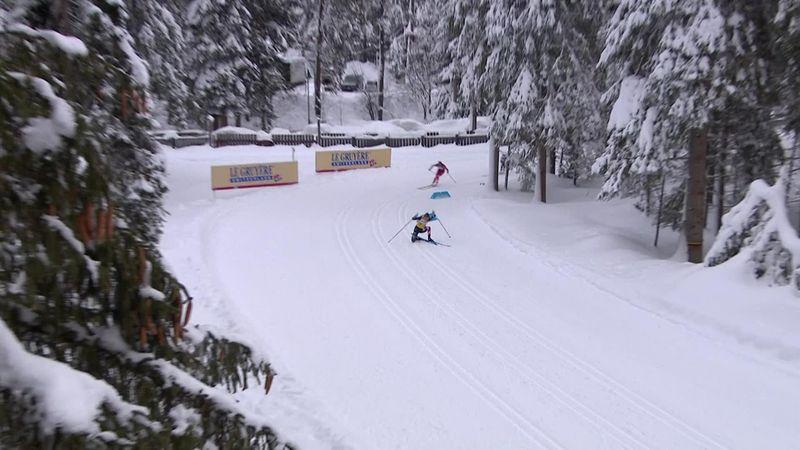 Sturz bei Führung: Bitterer Moment für Diggins bei Tour de Ski