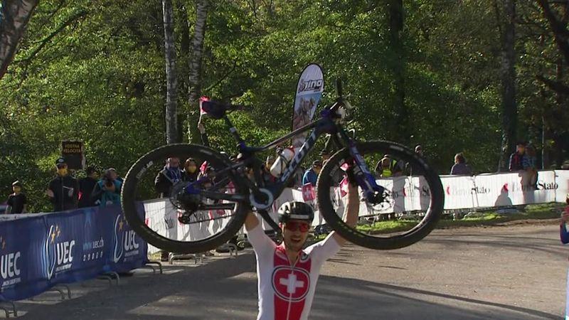 El suizo Nino Schurter se proclama campeón de Europa en Monte Tamaro