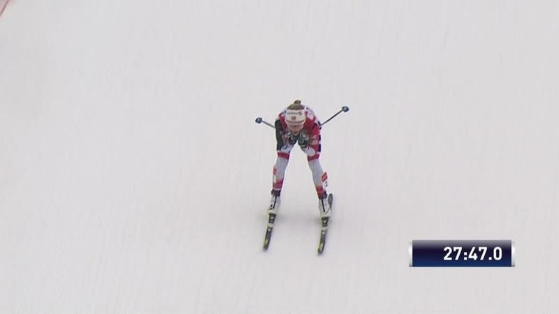 Se video: Johaug smadret konkurrentene