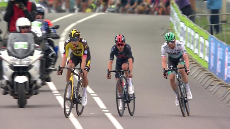 Wout van Aert wint met miniem verschil Amstel Gold Race